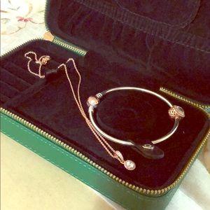 Pandora gift set rose gold